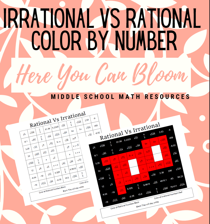 Irrational VS Rational Coloring Activity in 2020 Pre