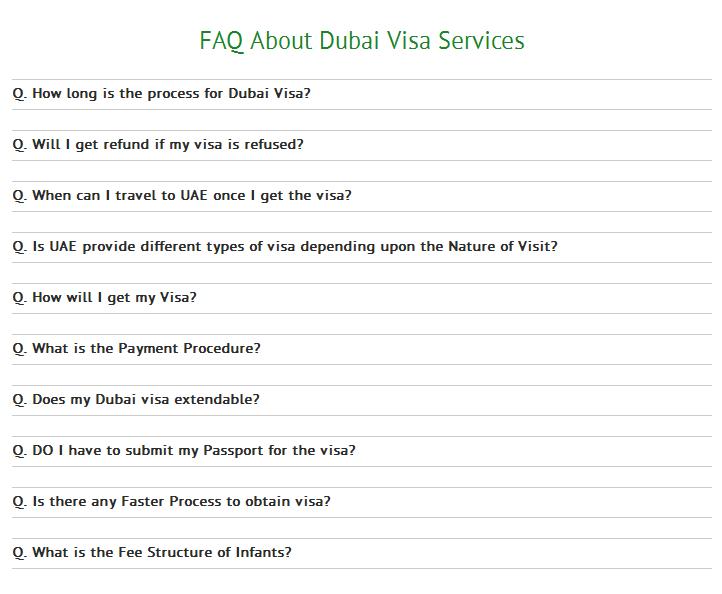 Fill Up Dubai Holiday Visa Online Application Form And Get