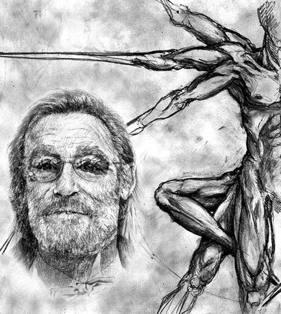 Morph from the movie pencil drawings morphing