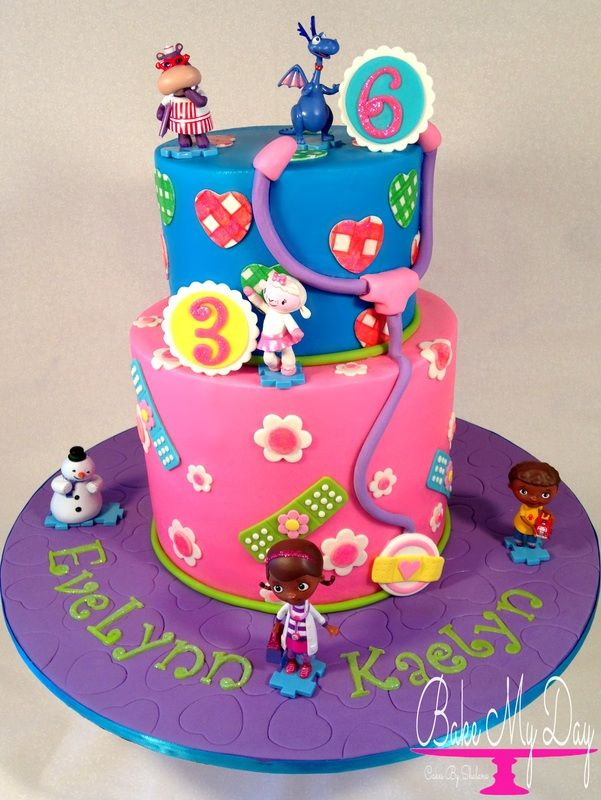 Doc McStuffins birthday cake Little Girls Cakes Pinterest Doc