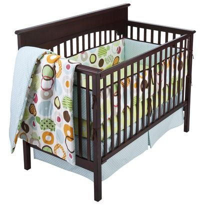 Geo Turtle Collection By Sumersault Isn T This Awesome I Love It Baby Bedding Sets Cribs Crib Bedding