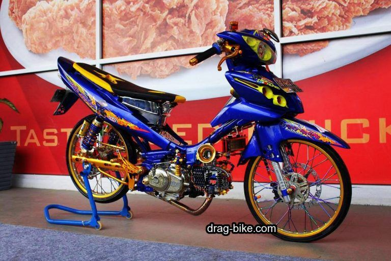 40 Foto Gambar Modifikasi Jupiter Z Kontes Racing Look Jari Jari