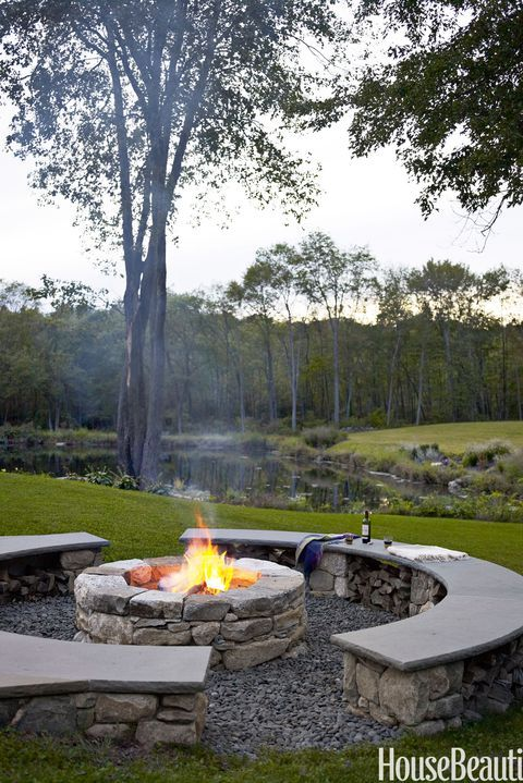 35 Unique Backyard Ideas to Steal for Your House -   24 small garden fire pit