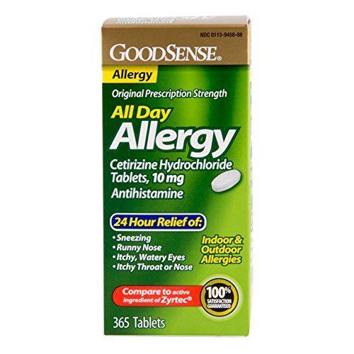 Goodsense All Day Allergy Allergies Allergy Tablets Allergy Medication