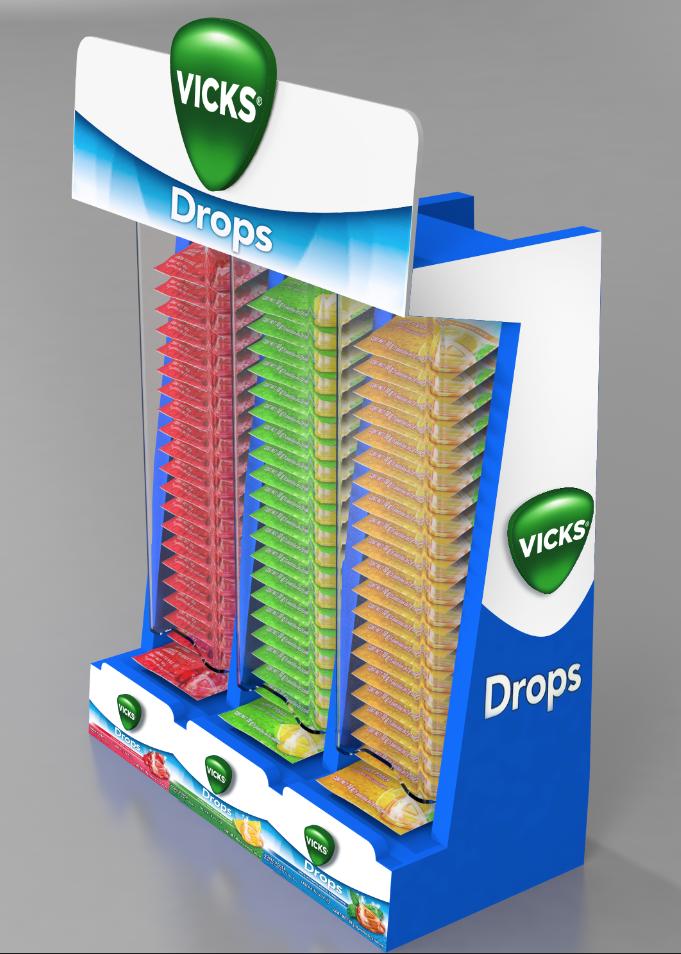 Vick Drops de 3 sabores