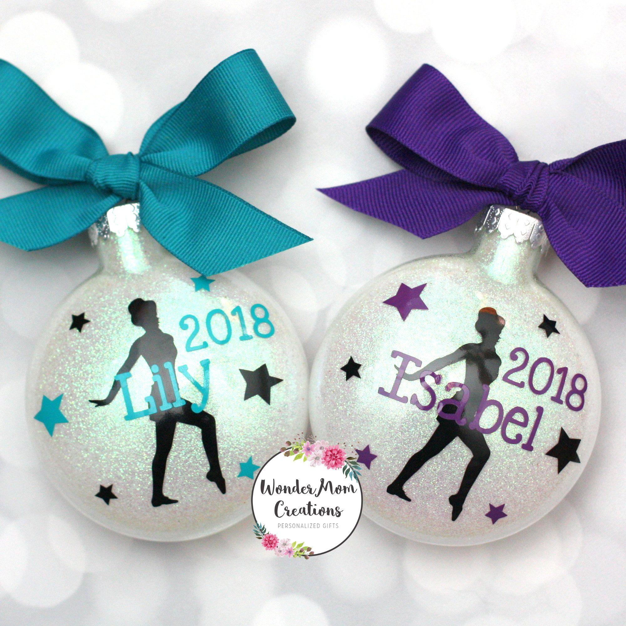 Jazz Dancer Ornament Personalized; Dance Teacher Ornament