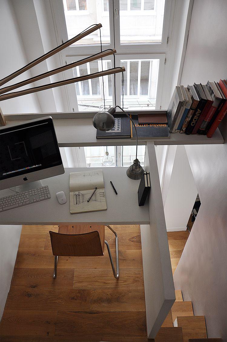 coin bureau en mezzanine mezzanine pinterest coin bureau mezzanine et bureau. Black Bedroom Furniture Sets. Home Design Ideas
