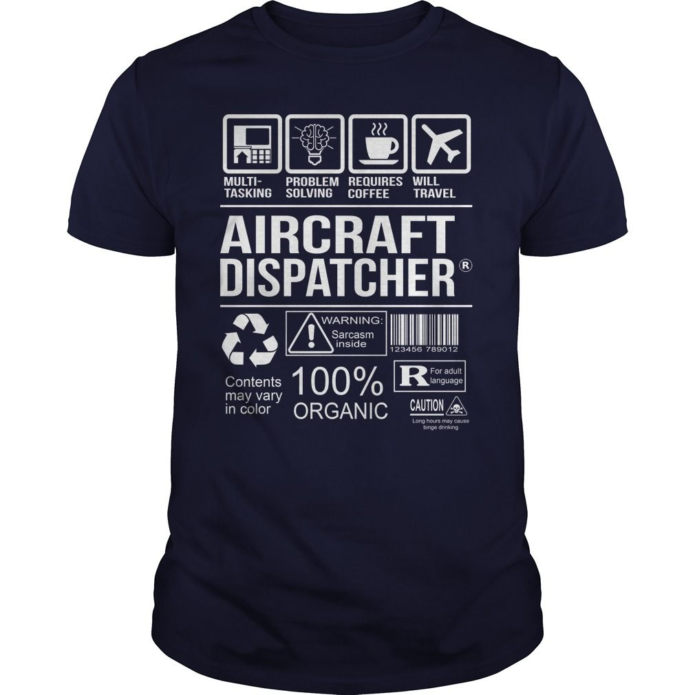 Awesome Tee For Aircraft Dispatcher T-Shirts, Hoodies. VIEW DETAIL ==► https://www.sunfrog.com/LifeStyle/Awesome-Tee-For-Aircraft-Dispatcher-102711171-Navy-Blue-Guys.html?id=41382