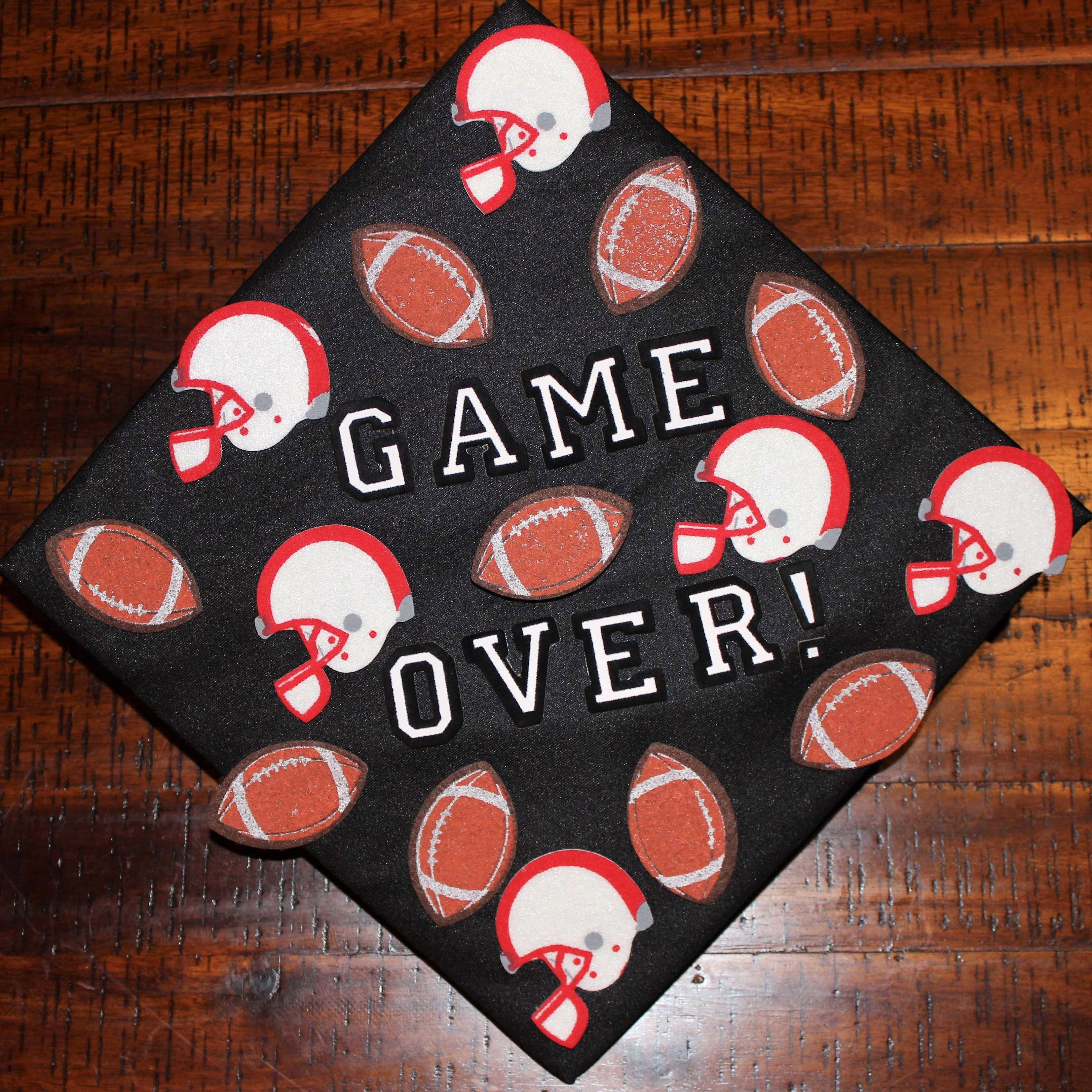 How To Decorate Your Grad Cap Church Hill Classics Graduation Cap Decoration High School Graduation Cap Decoration College Graduation Cap Decoration