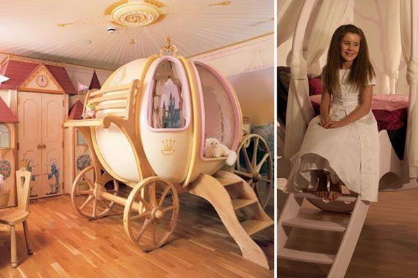 Come cenerentola a letto prima di mezzanotte nella mia cameretta da principessa le camerette da - Letto da principessa ...