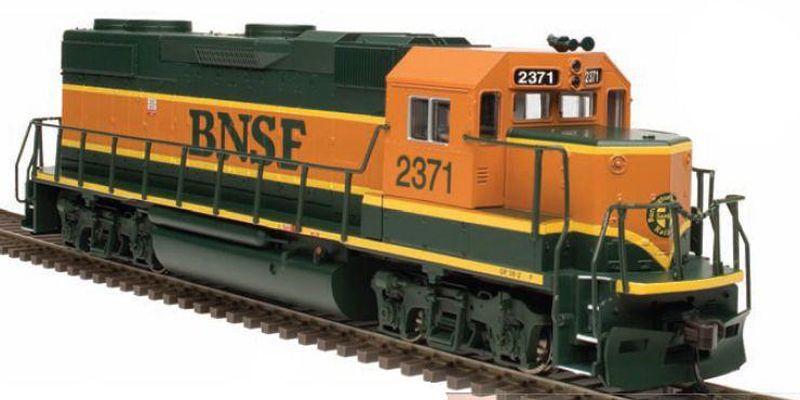 ho+train+engines | Atlas Trainman GP38-2 HO model train