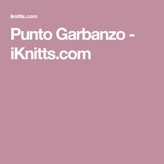 Punto Garbanzo - iKnitts.com