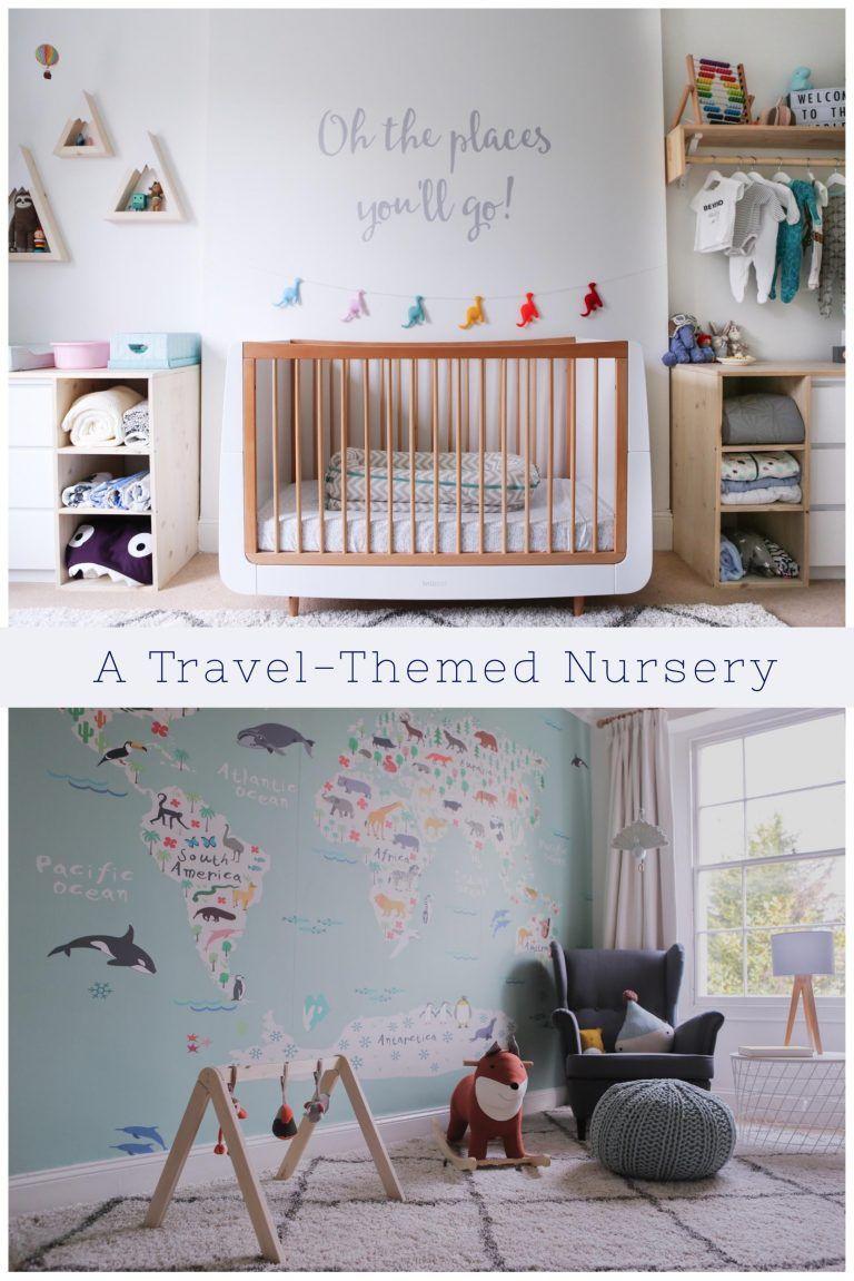 A Travel Themed Nursery Decor Inspiration