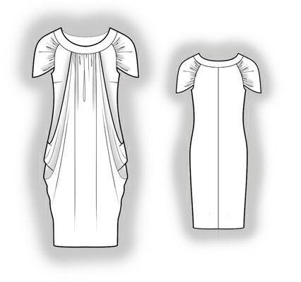 5982 PDF Dress Sewing Pattern Women Clothes by TipTopFit on Etsy ...