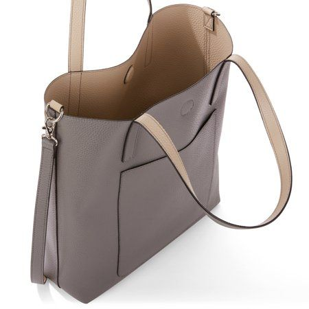 02598f116d Time and Tru Leigh Reversible Tote