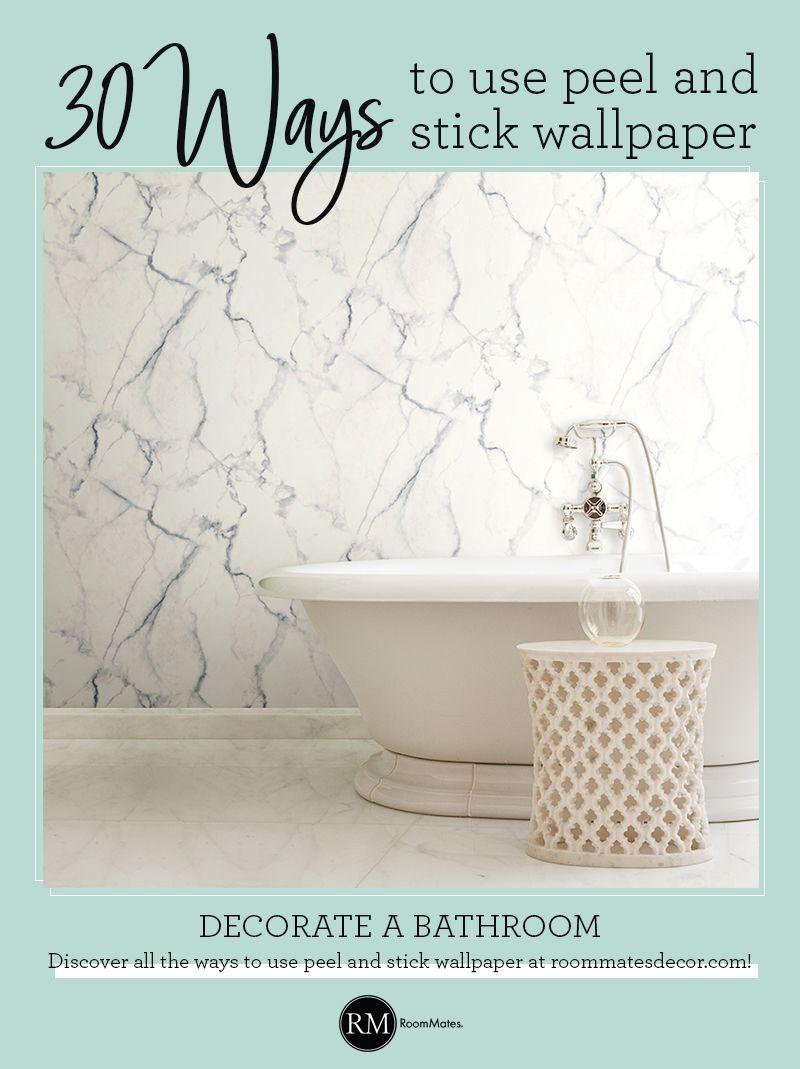 Carrara Marble Peel And Stick Wallpaper Peel And Stick Wallpaper Marble Bathroom Carrara Marble