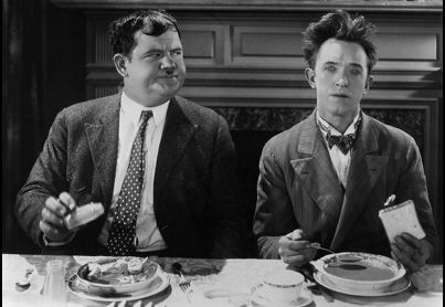 Image result for oliver hardy eating