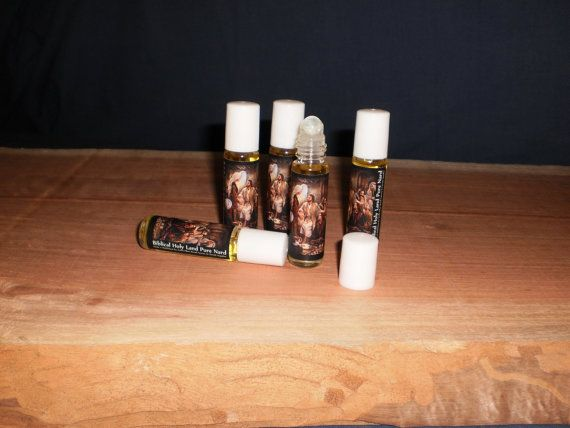 5 Roll On Anointing 100 Pure Nard Oil By Souvenirfromholyland