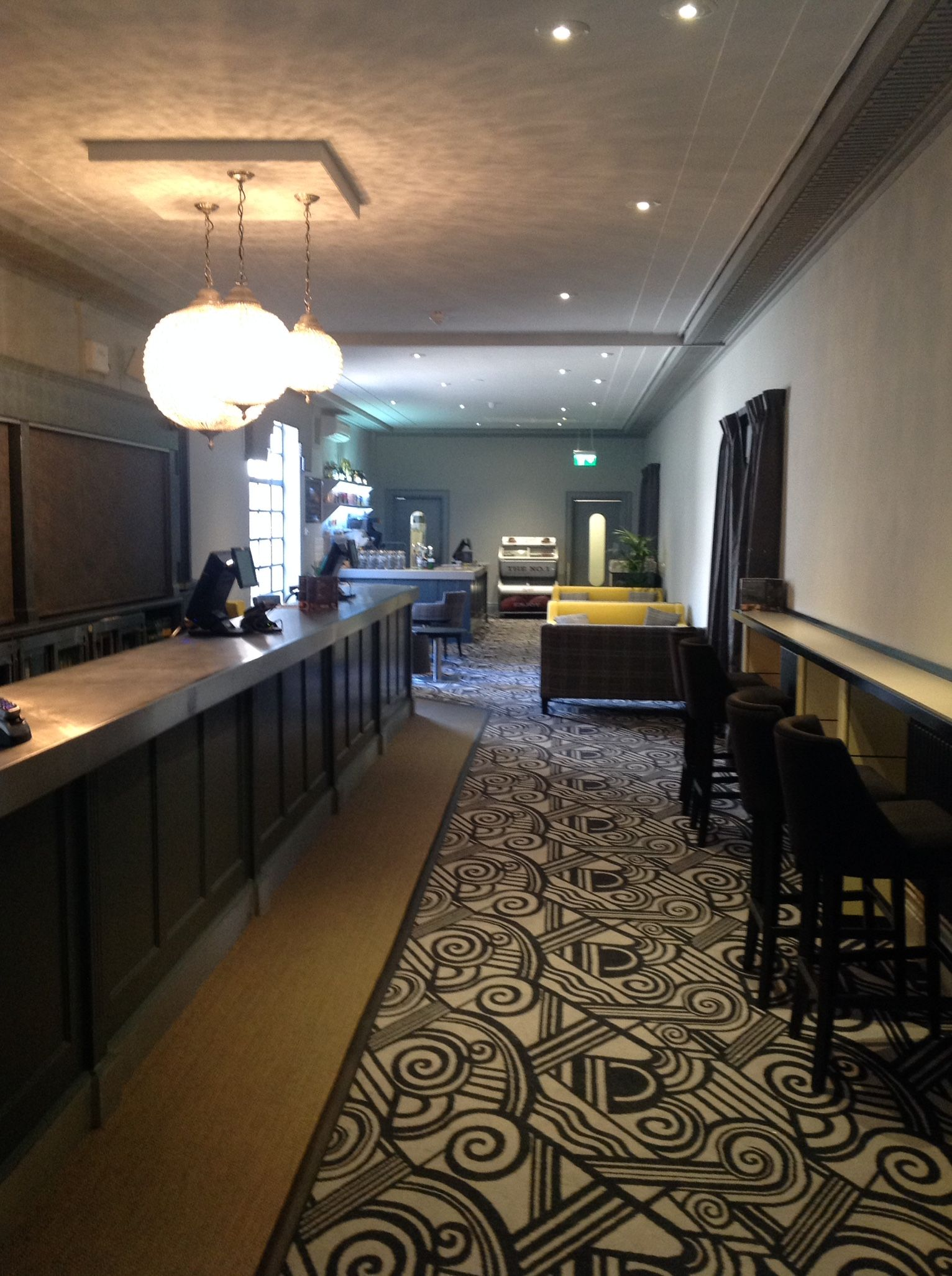Tunbridge Wells Assembly Hall - Bar Design - Bar Interior