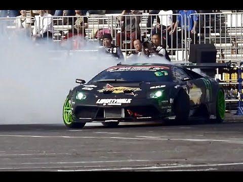 Monster Energy Lamborghini Murcielago Drift Car Daigo Saito