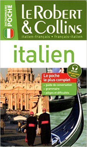 Amazon Fr Le Robert Collins Poche Italien Collectif