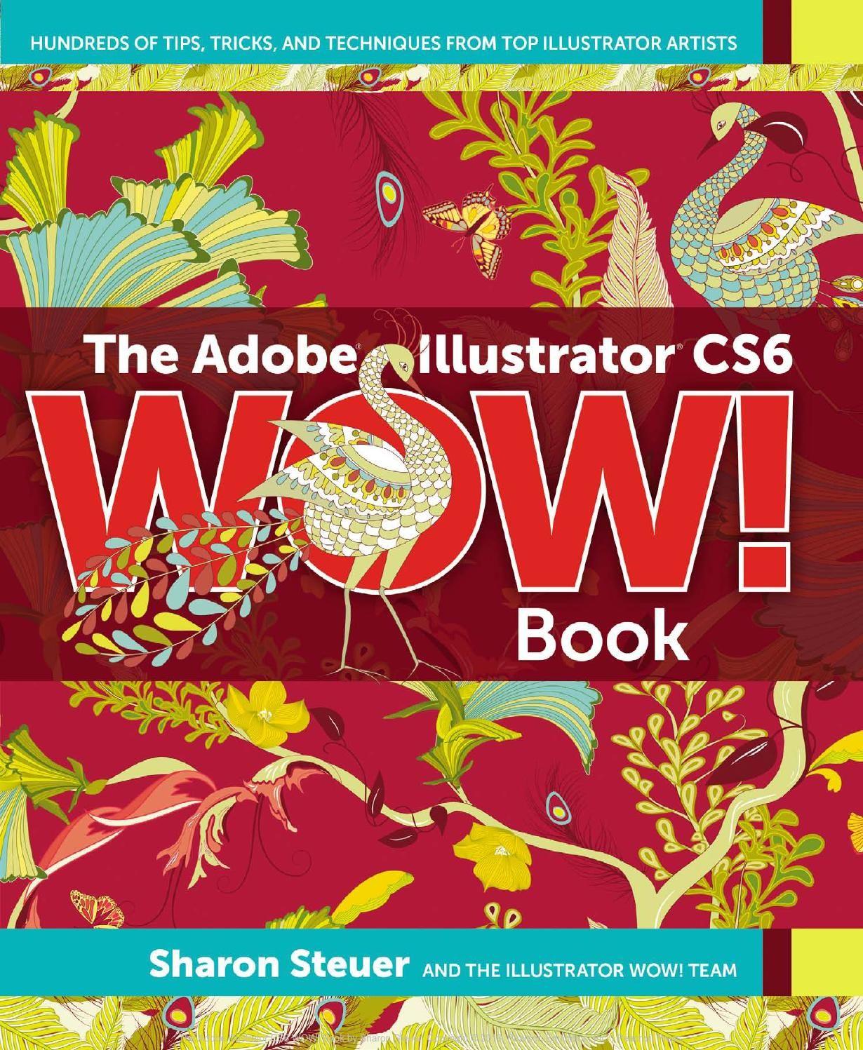 Kriyus Web Services The Adobe Illustrator Cs6 Wow Book