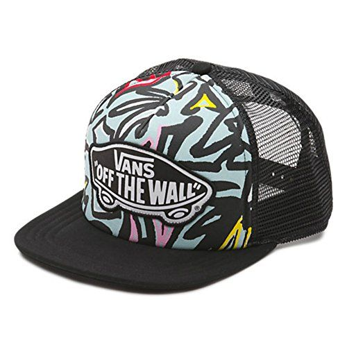 6a5353dd42c48 5 panel construction Adjustable snapback closure Embroidered Vans OTW logo  on front The post Vans Beach Girl Trucker Hat appeared first on ...