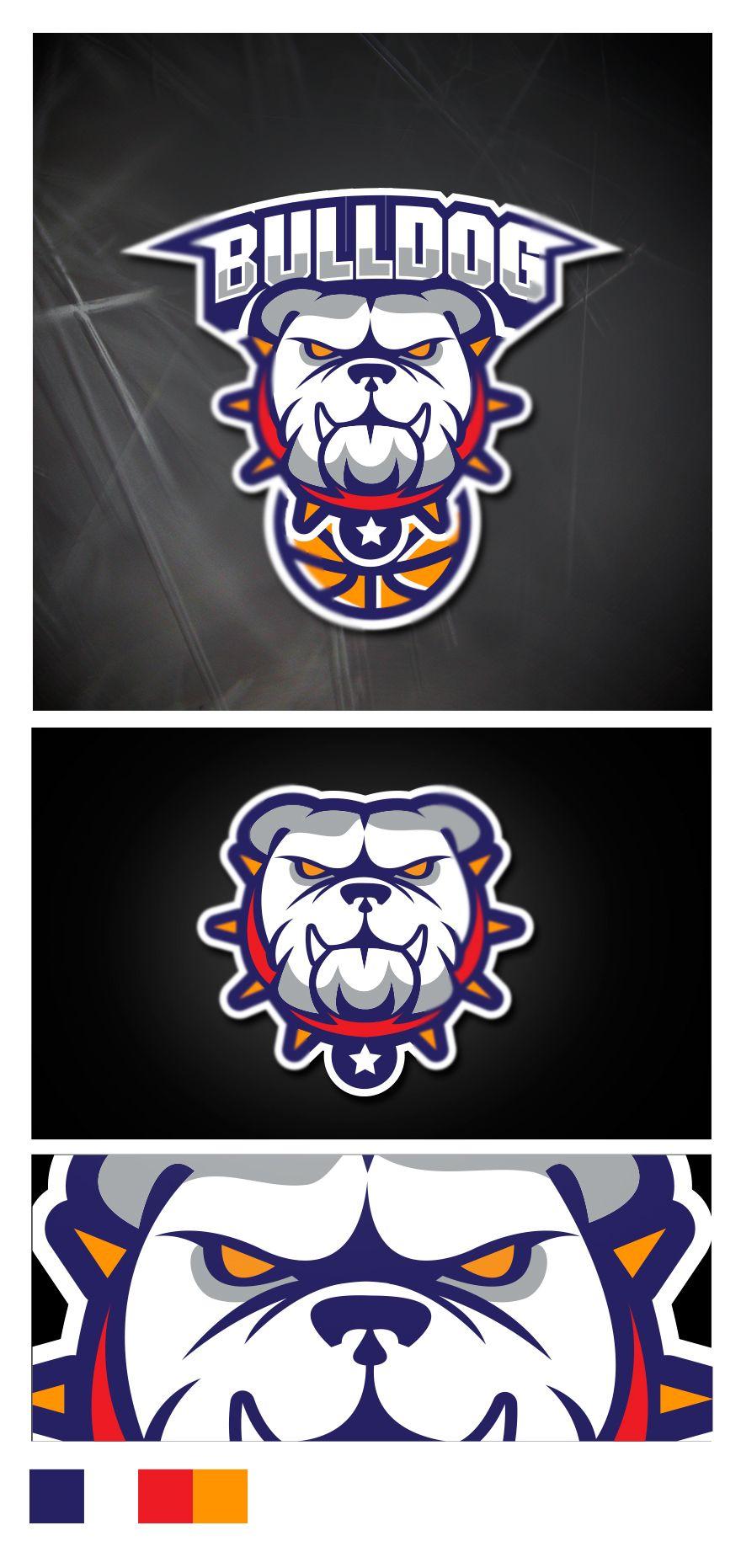Sport Logo BULLDOG on Behance Art logo, Sports logo