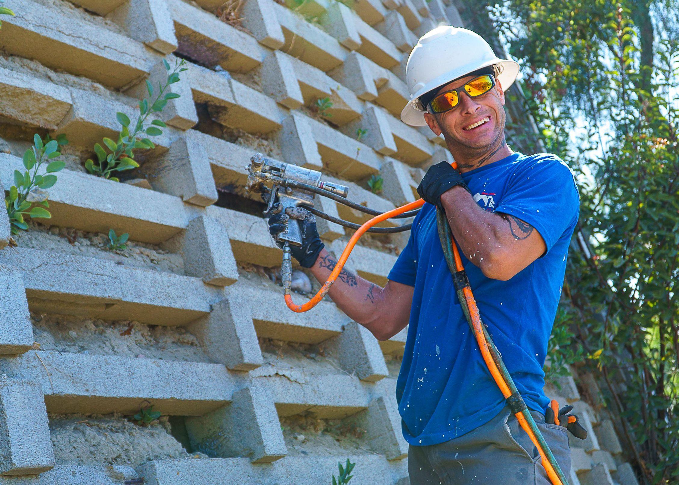 Santee Ca Foundation Repair Services Foundation Repair Santee Crib Wall