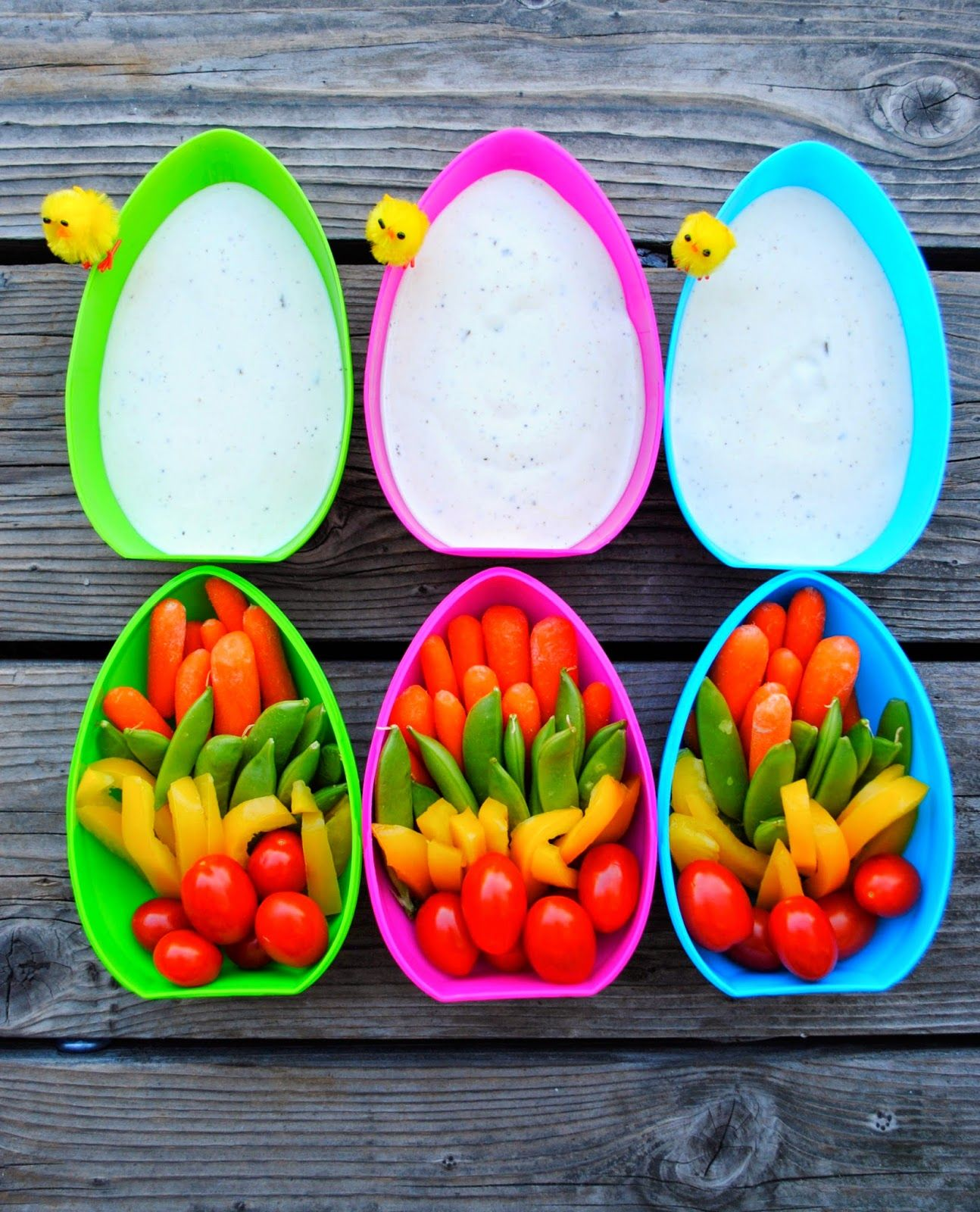Chicks And Dip...Easy Easter Appetizer
