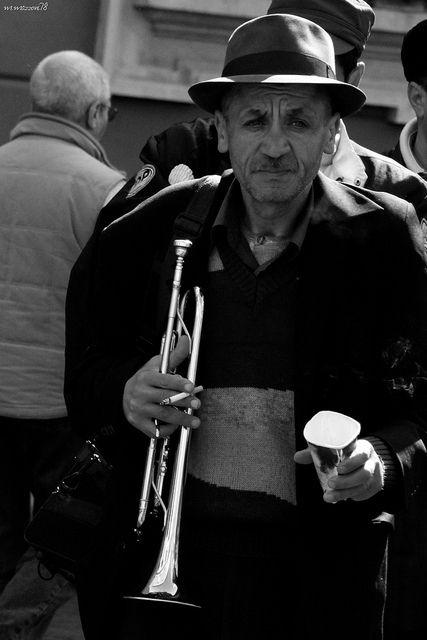 portrait of trumpet player