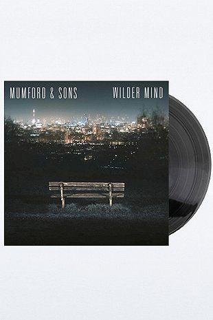 Mumford Amp Sons Wilder Mind Vinyl Record Entertainment