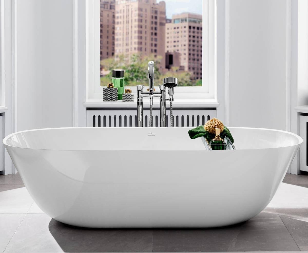 Villeroy Boch Theano Solo Freestanding Bath Free Standing Bath Bathtub Villeroy Boch