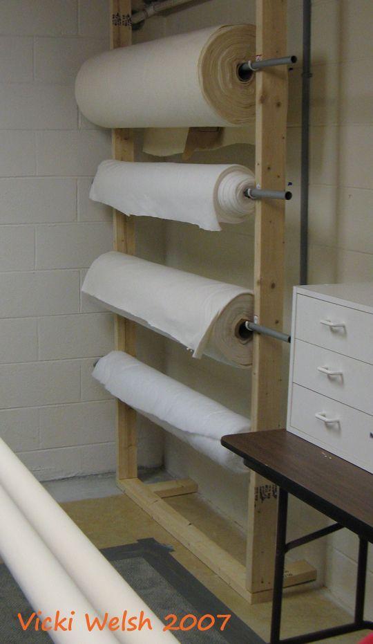 Quilt Batting Storage   Nähzimmer, Bastelei und Büros