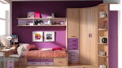 Decoracion de cuarto peque o para adolescentes mujeres for Muebles juveniles zona norte
