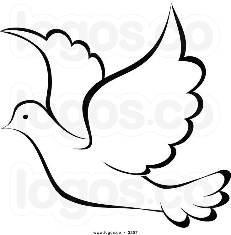 Royalty Free Dove Stock Logo Designs Dibujos De Palomas Siluetas De Palomas Paloma De La Paz