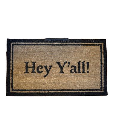 Take A Look At This Hey Y All Light Up Doormat By