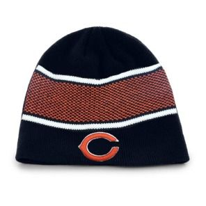 7f03d91f82d Chicago Bears One Time Cuffless Knit Hat by Reebok