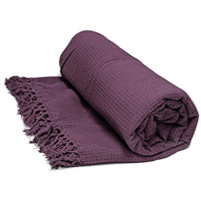 Honeycomb 100 Cotton Throws Extra Large Luxury Thermal Throw Over Blanket Purple Aubergine Damson Sofa Bed D Teal Throw Blanket Cotton Throws Blanket Teal