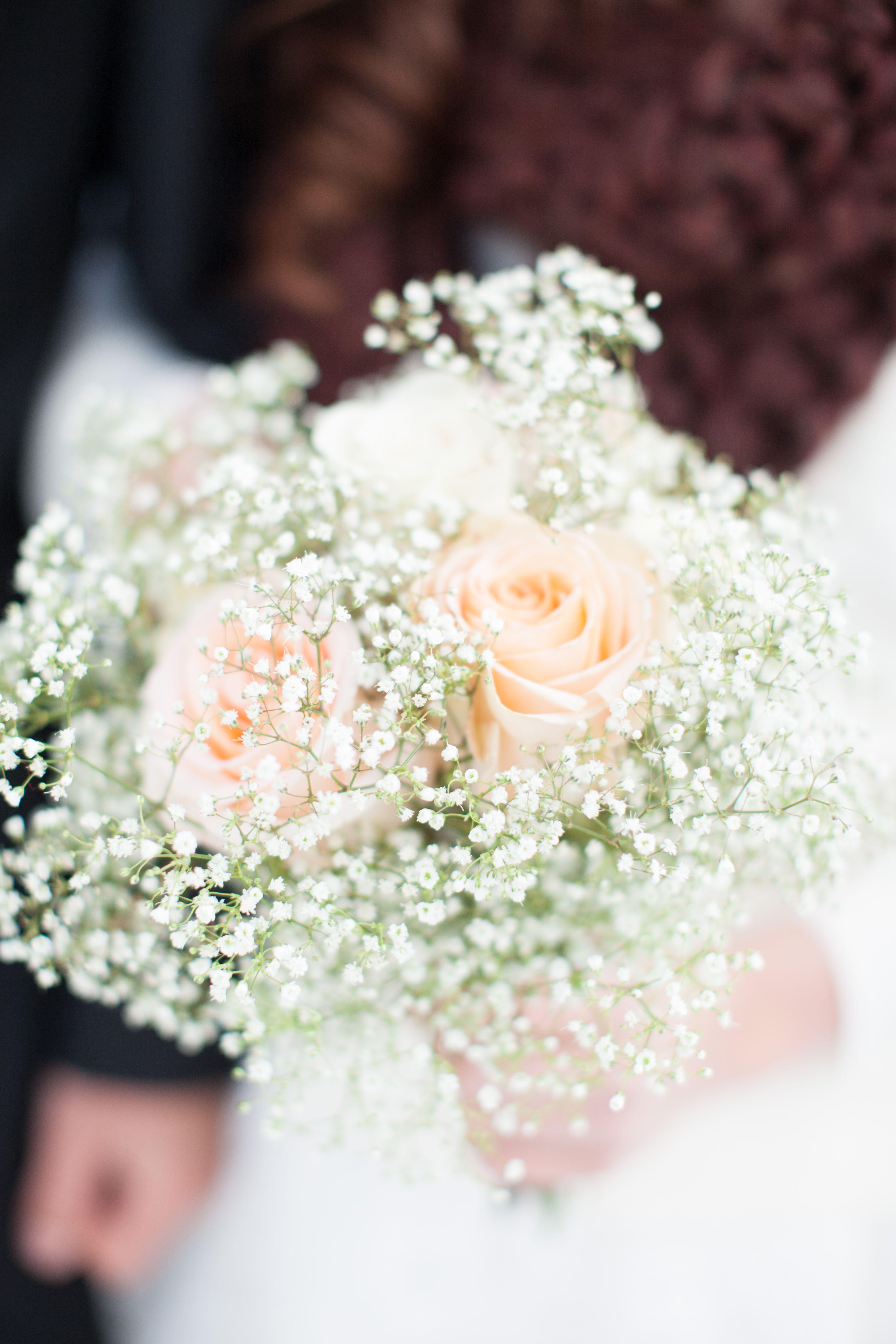 Bridesmaids bouquet babys breath roses winter white wedding bridesmaids bouquet babys breath roses winter white wedding mightylinksfo