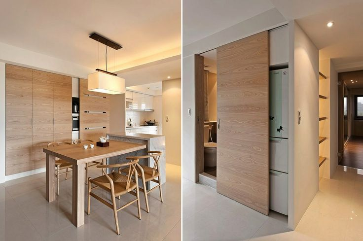 This stylish yet homey apartment design comes to us courtesy of Taiwan based Fertility Design