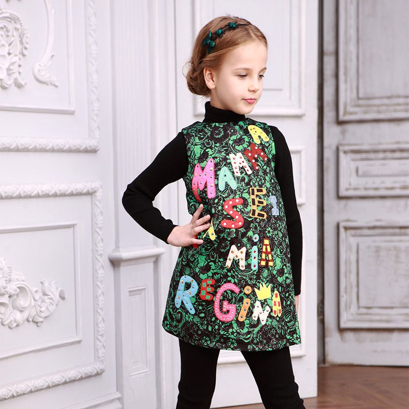 Cheap dress victorian, Buy Quality dress patterns prom dresses directly from China dress accent Suppliers:    Milan Creations Baby Girls Dress Princess 2015 Brand Kids Dresses for Girls Clothes Character Print Silk Girls Dresse