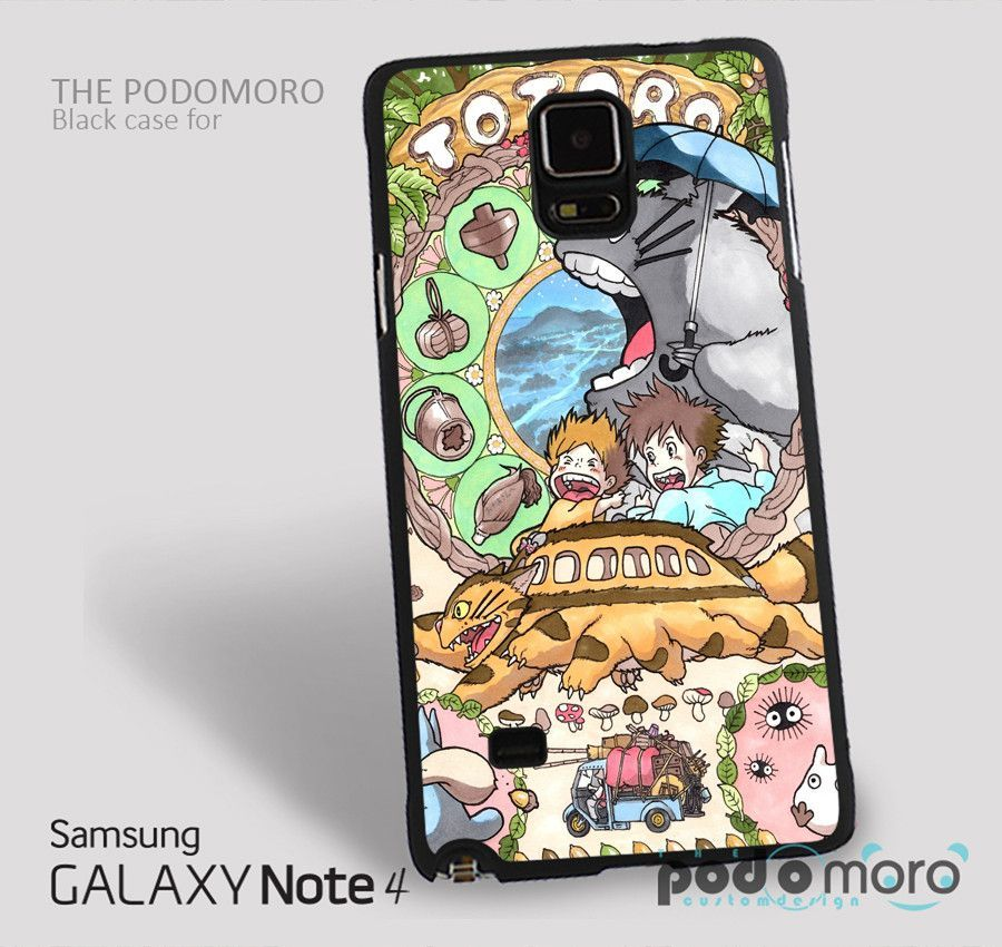 My Neighbor Totoro for iPhone 4/4S, iPhone 5/5S, iPhone 5c, iPhone 6, iPhone 6 Plus, iPod 4, iPod 5, Samsung Galaxy S3, Galaxy S4, Galaxy S5, Galaxy S6, Samsung Galaxy Note 3, Galaxy Note 4, Phone Case