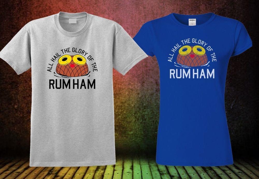 Mens Rum Ham Fashion T Shirt