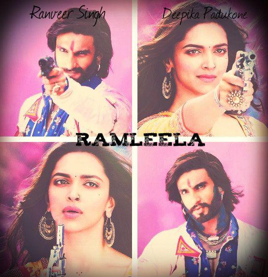 Ranveer Singh as Ram & Deepika Padukone as Leela in the ...