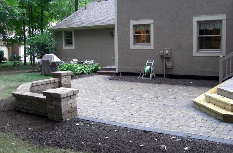 Paver Patios Columbus Ohio Brick Pavers Patio Designs