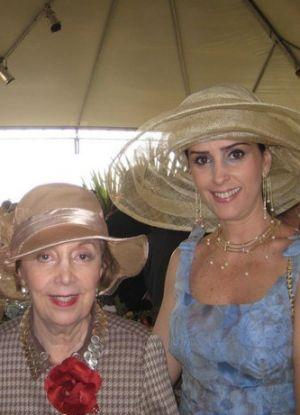 Lenice Bismarker - a grande dama dos chapéus em Minas