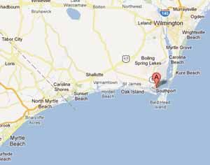 southport nc map google Southport North Carolina Google Sogning Southport North