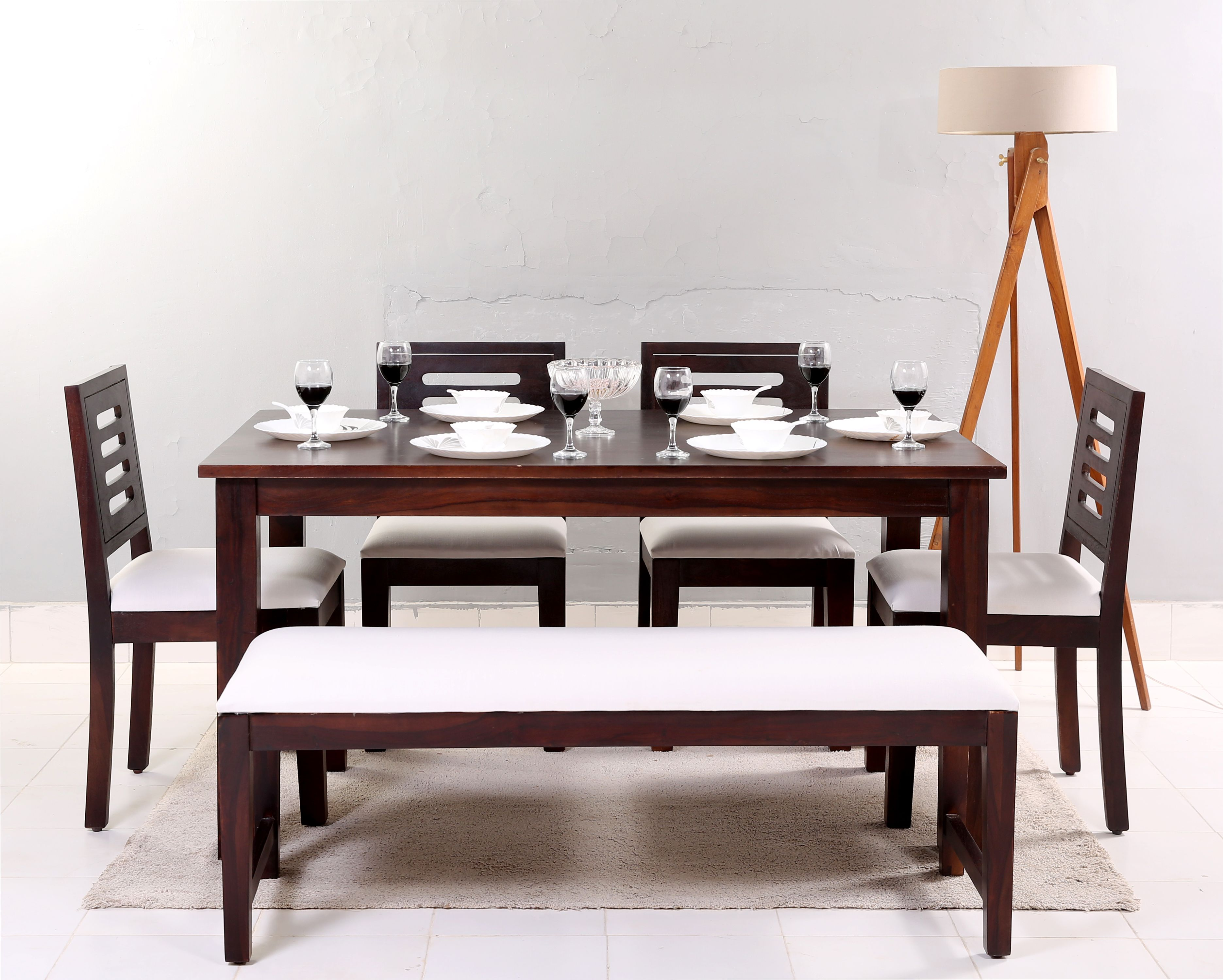 Give A Simple And Royal Look To Your Dining Space With The