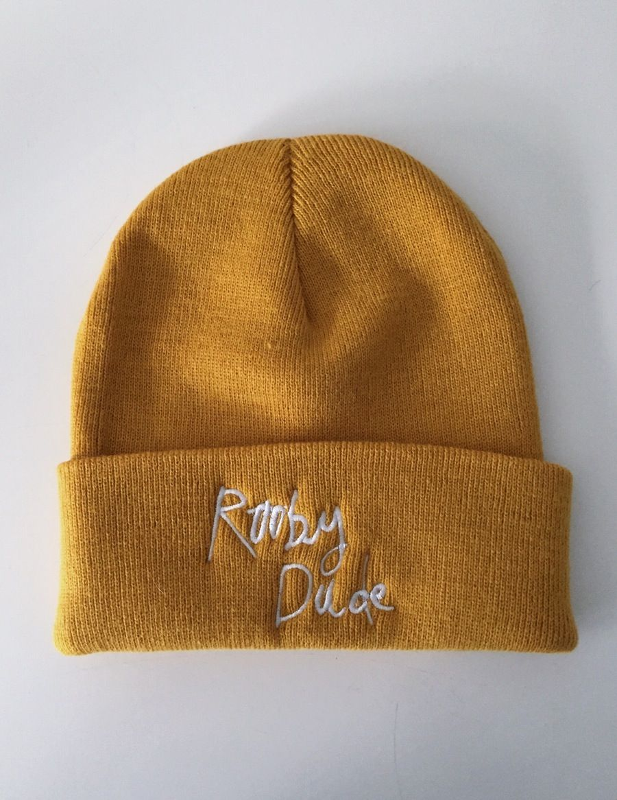 Image of Mustard Beanie Hat